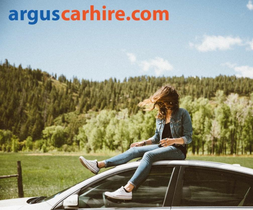Argus Car Hire Homepage