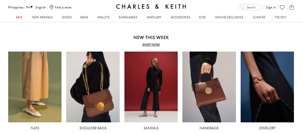 Charles & Keith PH About Us