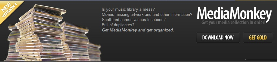 About MediaMonkey Homepage