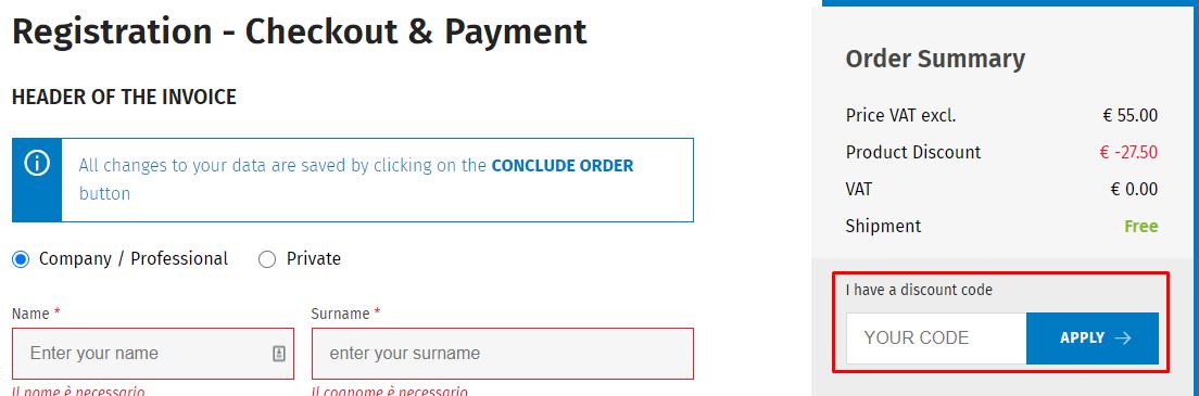 How do I use my ShopWKI discount code?