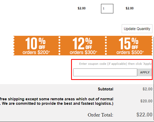 How do I use my Chamaripa Shoes coupon code?