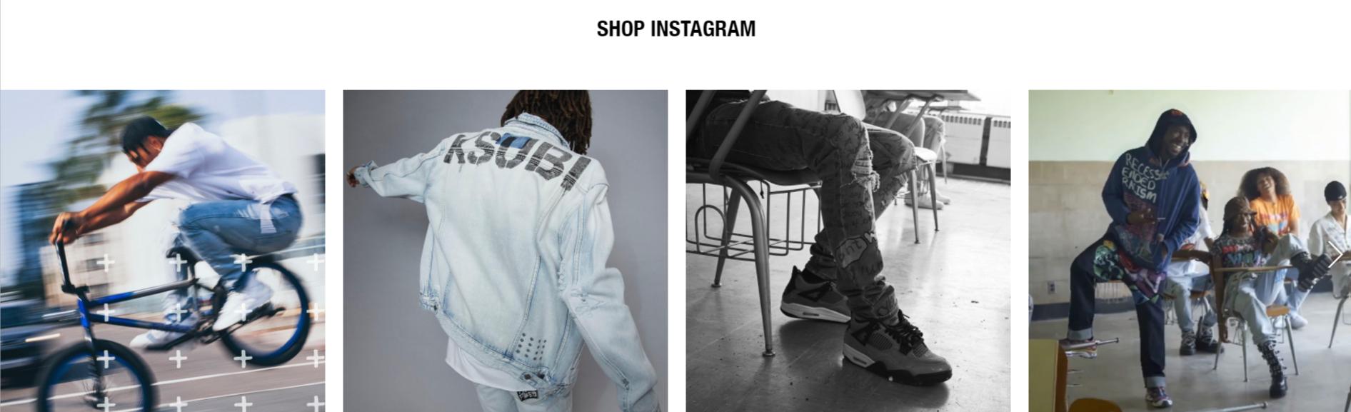 Ksubi Shop Instagram