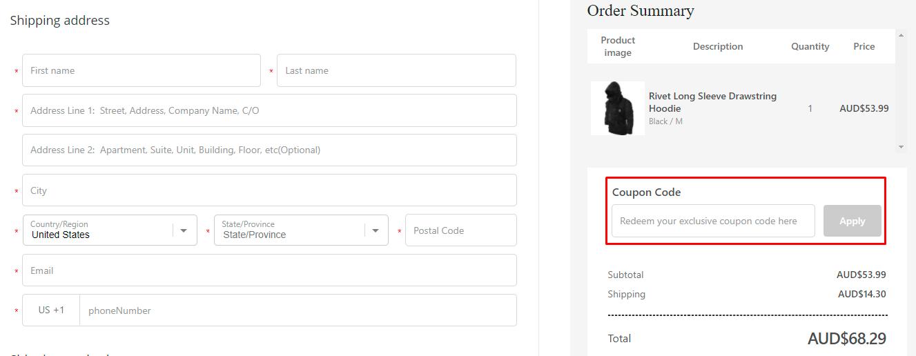 How do I use my Blaroken coupon code?