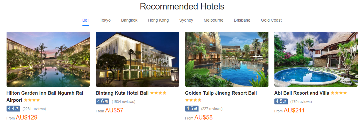 Trip.com Recommended Hotels