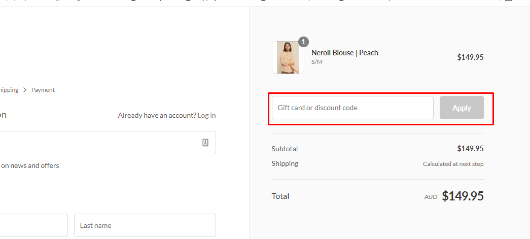 How do I use my fabrik discount code?