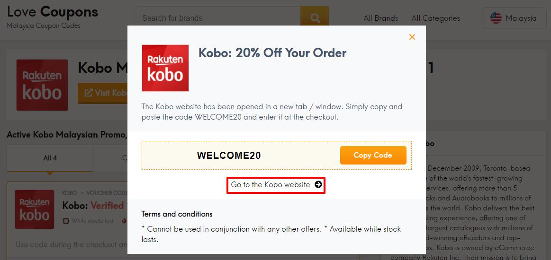 Kobo Offer MY
