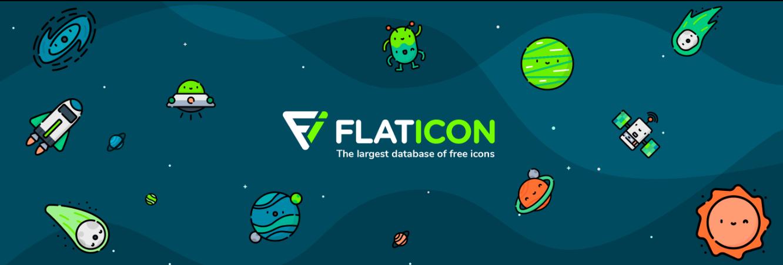 Flaticon Homepage