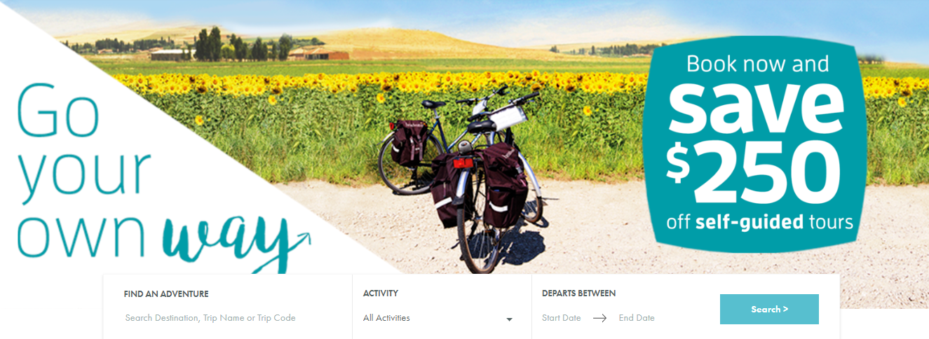 Exodus Travels Homepage
