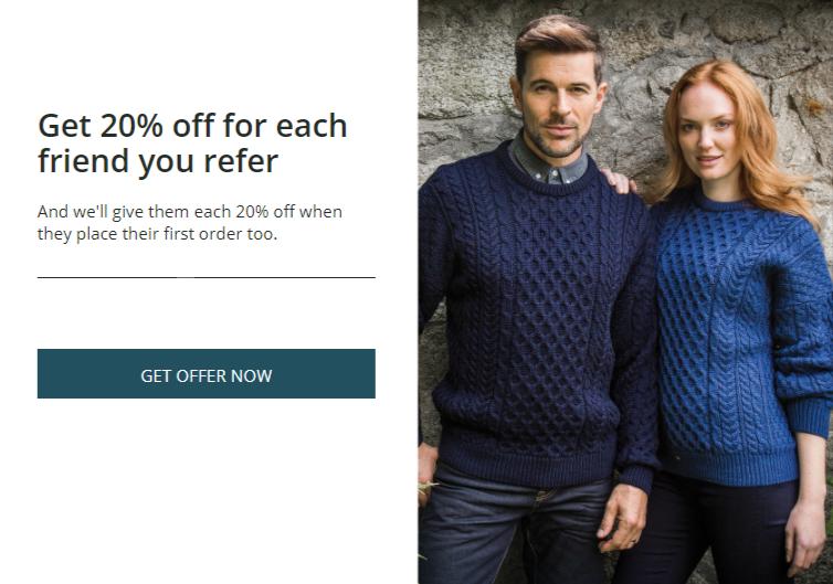 refer a friend irish store