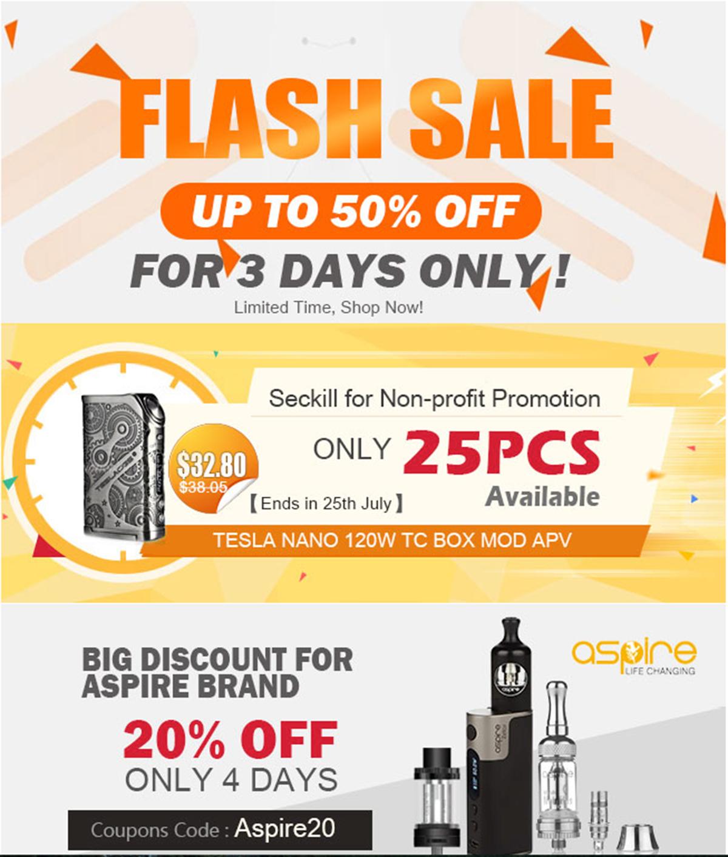 Cigabuy Flash Sale