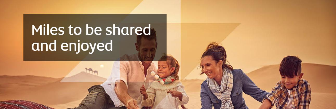Etihad family membership