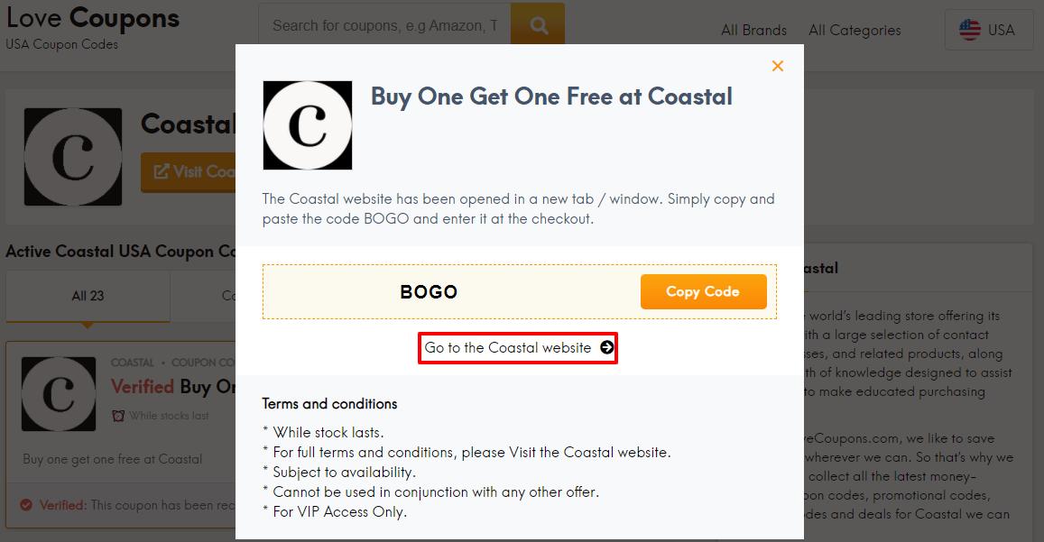 Coastal Offer