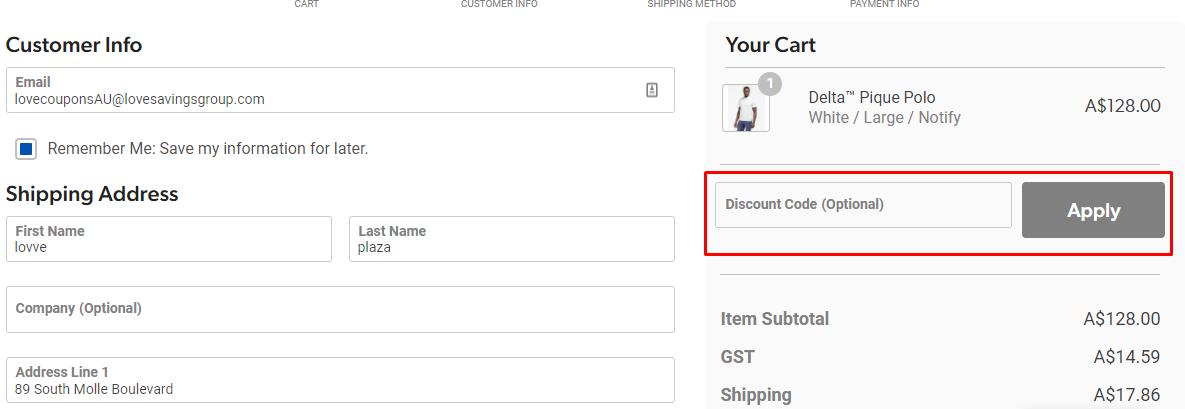 How do I use my Rhone discount code?