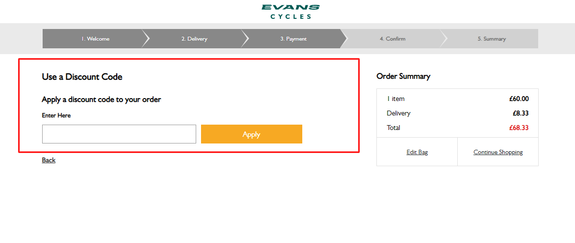 How Do I Use My Evans Cycles Promo Code?