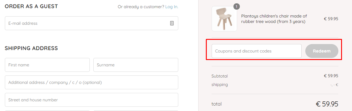How do I use my KidsWoodLove discount code?