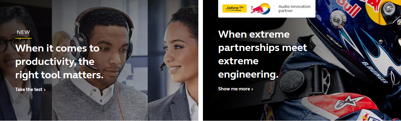 About Jabra Homepage