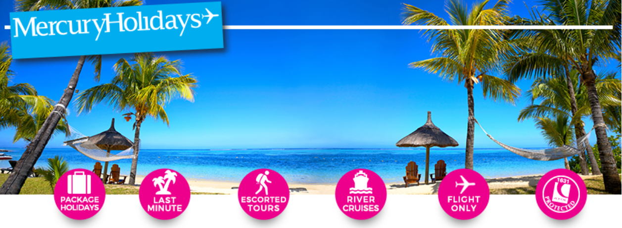 About Mercury Holidays Homepage