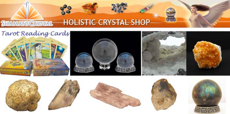 About Shamans Crystals Homepage