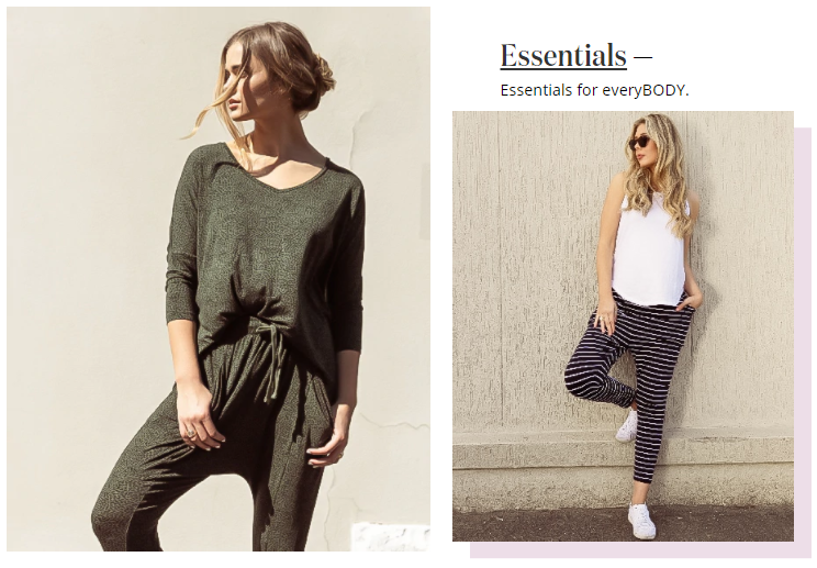 About Essential Label Homepage