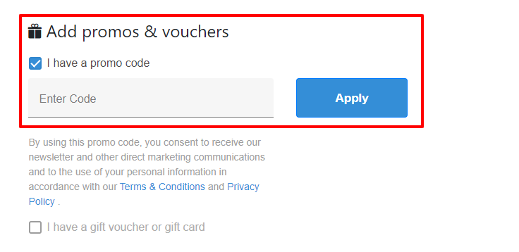 How do I use my Red Balloon discount code?