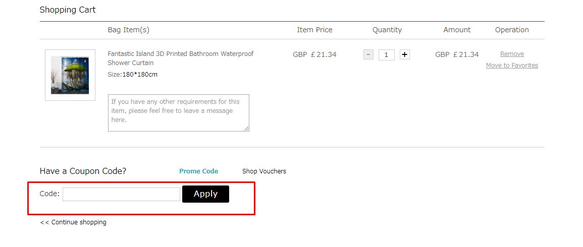 How do I use my Beddinginn coupon code?