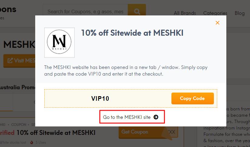 Go to MESHKI site
