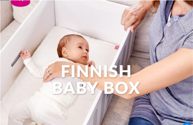 Finnish Baby Box Homepage