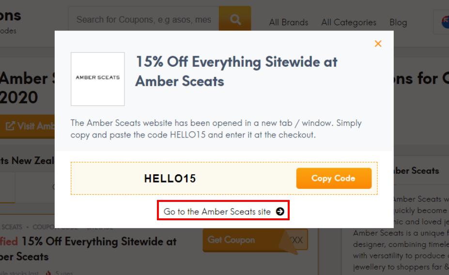 go to Amber Sceats site