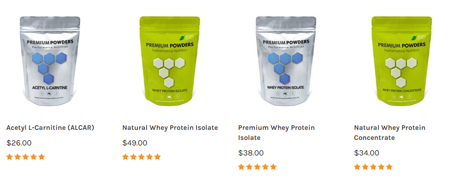 Premium Powders Sales