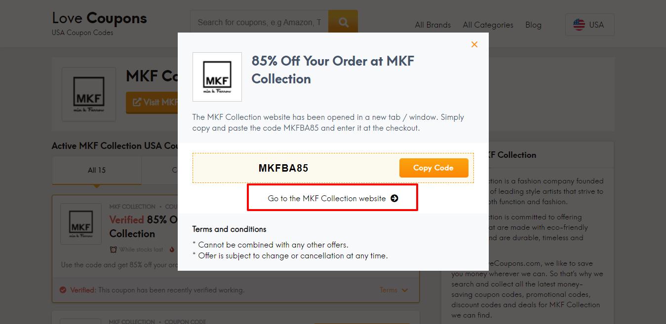 MKF Collection Website