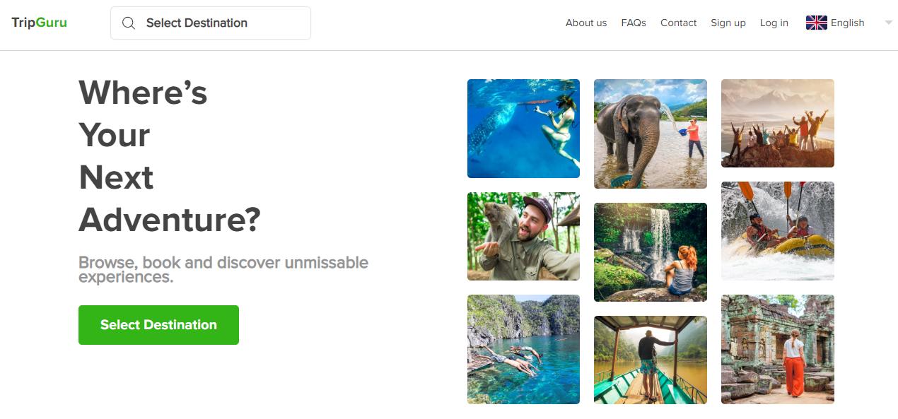 The Trip Guru Homepage