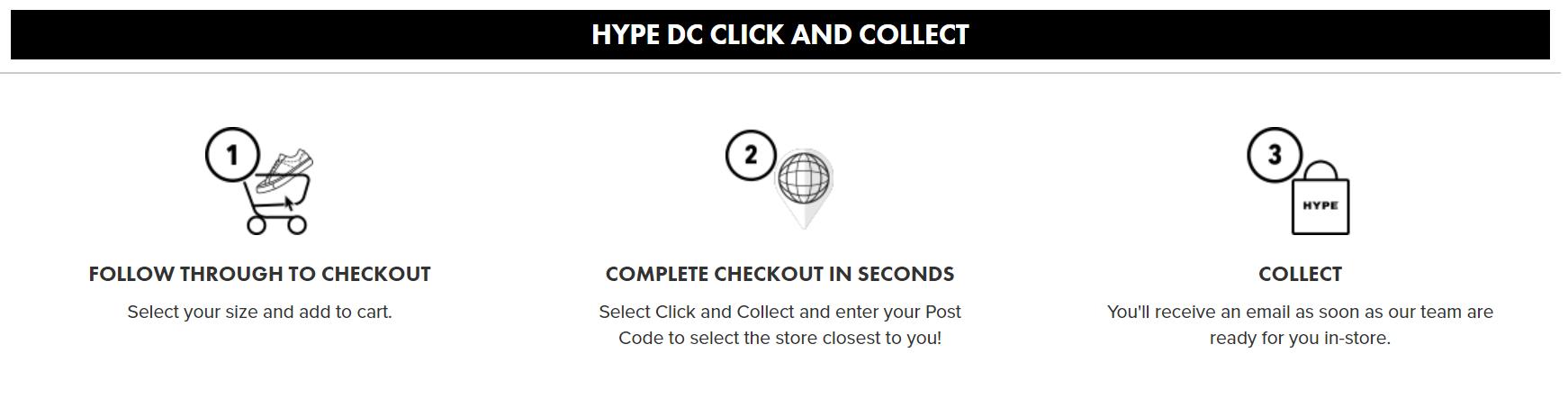 Hype DC click