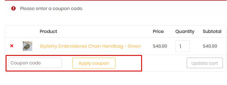 How do I use my Like My New Bag discount code?
