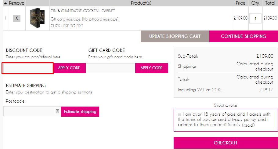 How do I use my MicroBarBox coupon code?