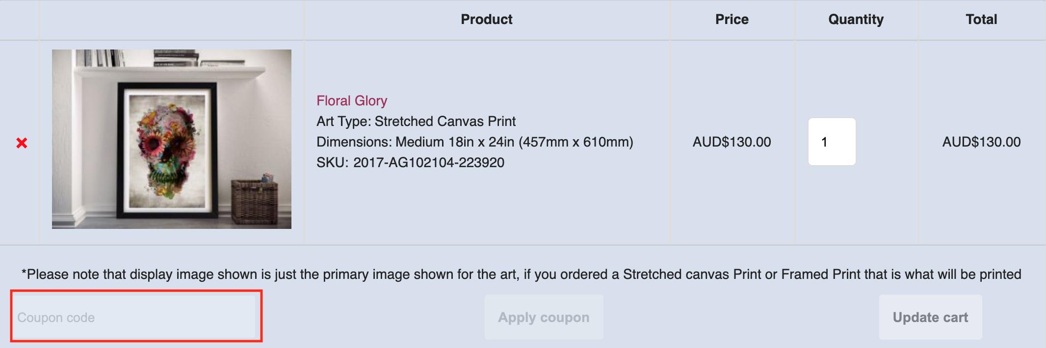 blue horizon prints coupon code
