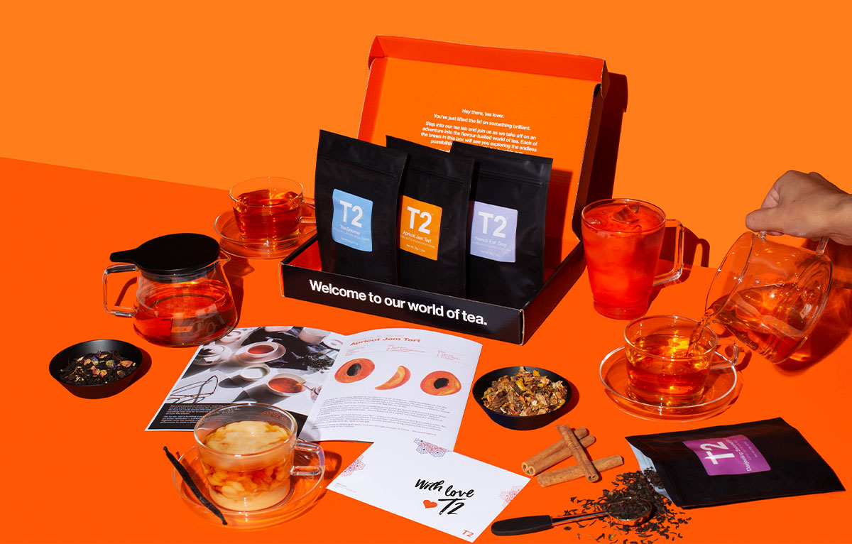 A T2 Tea Subscription is the PERFECT Gift