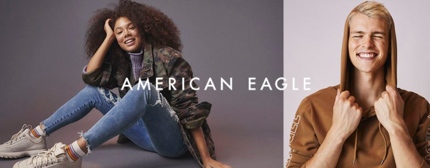 About American Eagle Outfitters Homepage