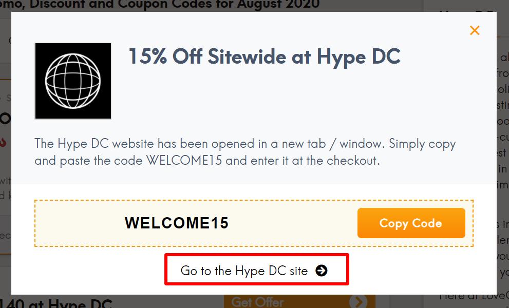 AU Hype DC go to _