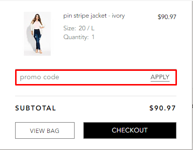 How do I use my promo code