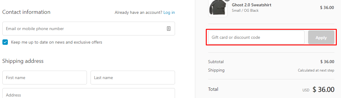 How do I use my Jumper discount code?