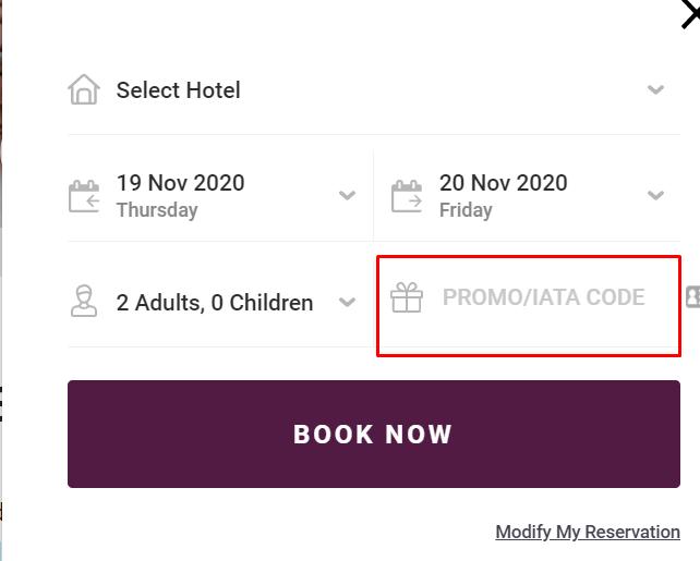 How do I use my Berjaya Hotels & Resorts promo code?
