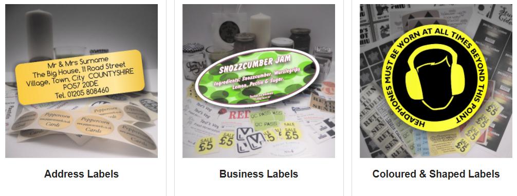 Sticky Labels