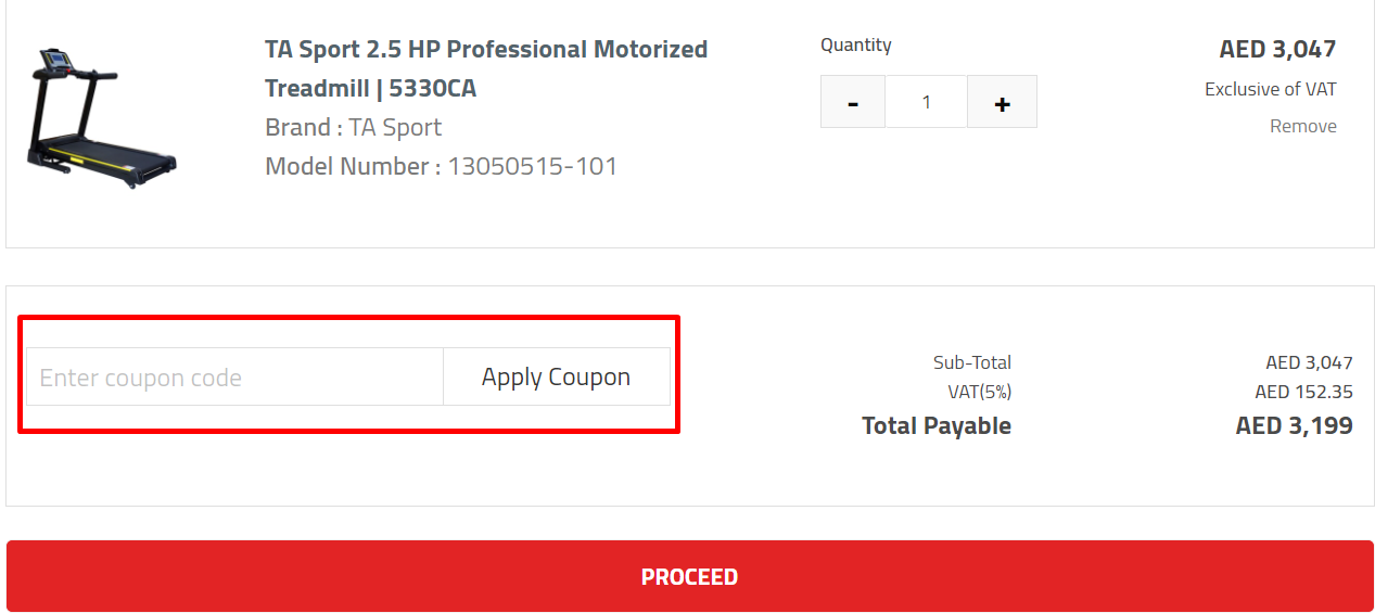 How do I use my Active Fitness Store coupon code?