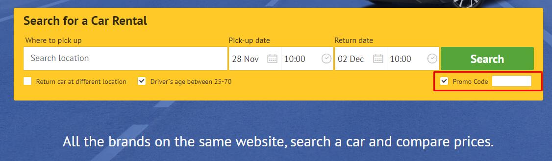 How do I use my Economy Bookings promo code?