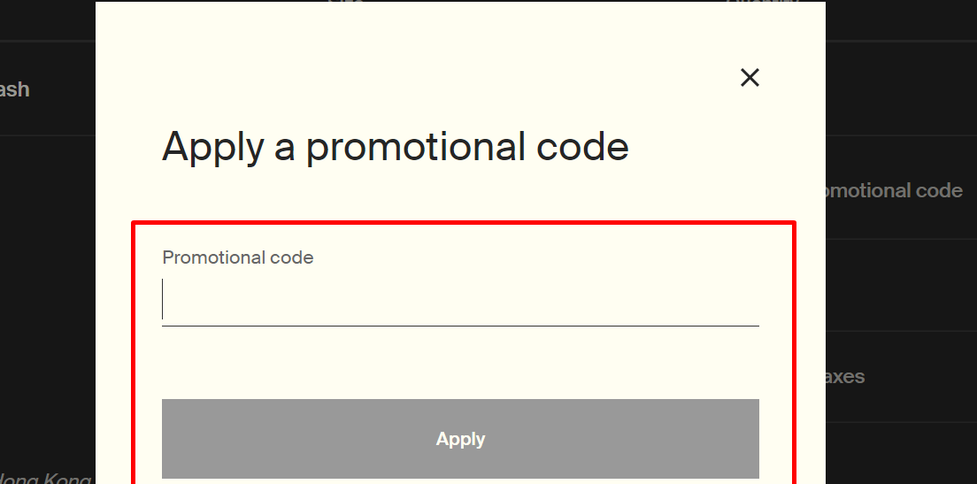 How do I use my Aesop promotional code?