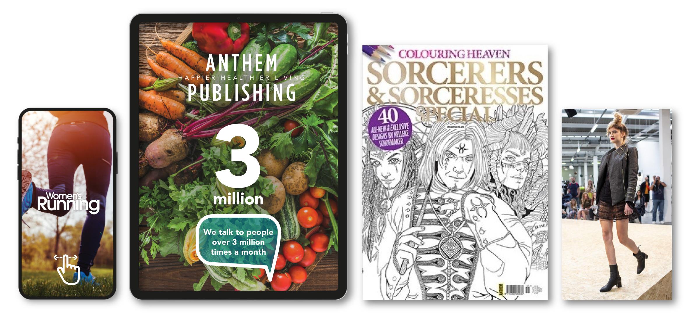 Anthem Publishing Homepage