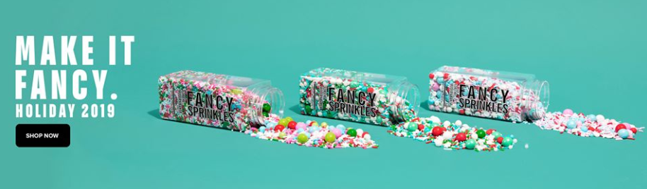 About Fancy Sprinkles Homepage