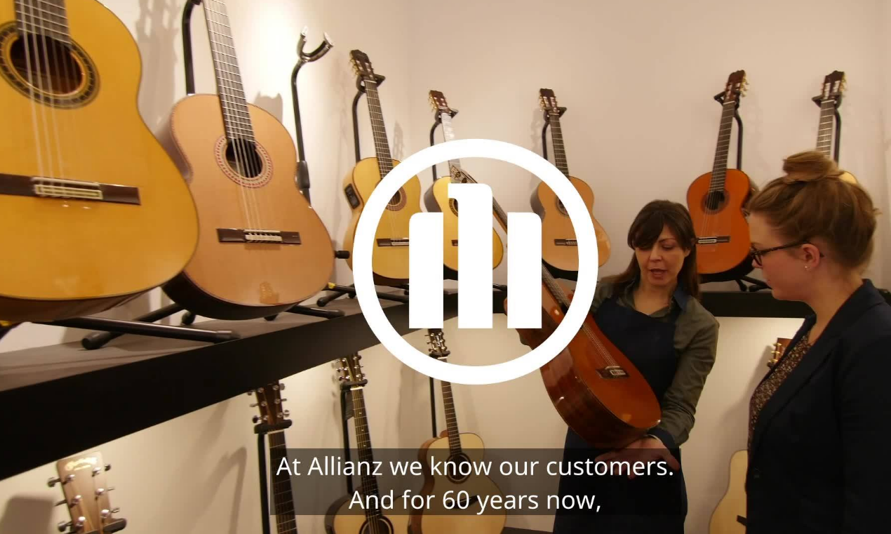 About Allianz Musical Insurance Homepage