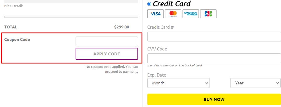 How do I use my Logo Garden coupon code?