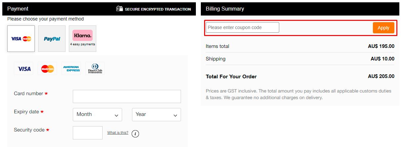 How do I use my Schutz coupon code?